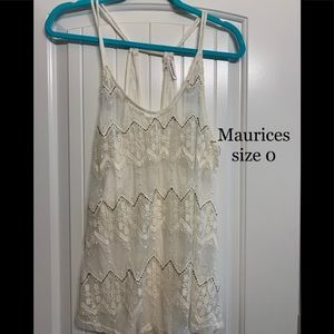Maurices cami size 0
